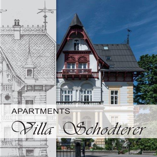 Apartments Villa Schodterer in der Kaiserstadt Bad Ischl