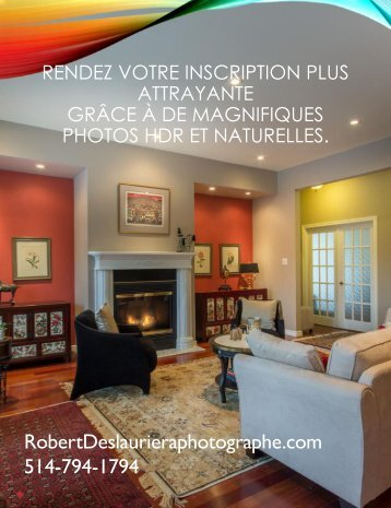Robert Deslauriers photographie immobiliere