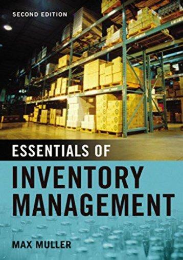 PDF Essentials of Inventory Management   Online