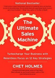 PDF The Ultimate Sales Machine: Turbocharge Your Business with Relentless Focus on 12 Key Strategies | Ebook