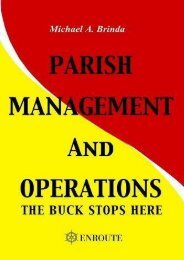 Read Parish Management and Operations: The Buck Stops Here | Download file