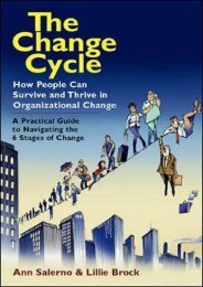 PDF The Change Cycle: How People Can Survive and Thrive in Organizational Change | Ebook
