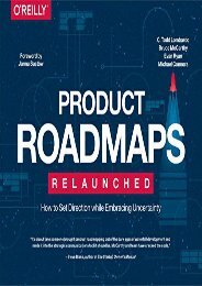 Free Product Roadmaps Relaunched | Ebook