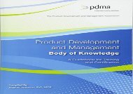 Read Product Development and Management Body of Knowledge: A Guidebook for Training and Certification | Online