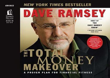 PDF The Total Money Makeover: A Proven Plan for Financial Fitness | pDf books