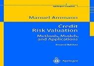 Read Credit Risk Valuation: Methods, Models, and Applications (Springer Finance) | PDF File
