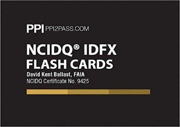Download Ncidq Idfx Flash Cards | Ebook
