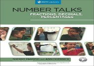 Read Number Talks: Fractions, Decimals, and Percentages: A Multimedia Professional Learning Resource | PDF File