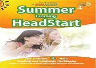 PDF Summer Learning HeadStart, Grade 4 to 5: Fun Activities Plus Math, Reading, and Language Workbooks: Bridge to Success with Common Core Aligned Resources and Workbooks | Download file