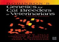 [+]The best book of the month Robinson s Genetics for Cat Breeders and Veterinarians, 4e  [FREE]