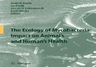 [+]The best book of the month The Ecology of Mycobacteria: Impact on Animal s and Human s Health  [FULL]