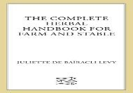 [+]The best book of the month The Complete Herbal Handbook for Farm and Stable  [NEWS]
