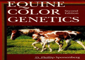 [+]The best book of the month Equine Color Genetics  [FULL]