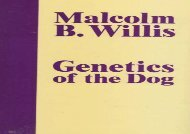 [+]The best book of the month Genetics of the Dog  [NEWS]