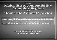 [+]The best book of the month The Major Histocompatibility Complex Region of Domestic Animal Species (Comparative Immunology)  [FREE]