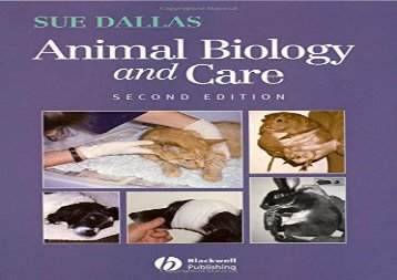 [+]The best book of the month Animal Biology and Care  [DOWNLOAD]