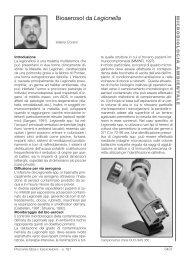 Bioaerosol da Legionella - International Pbi