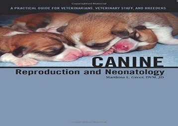 [+][PDF] TOP TREND Canine Reproduction and Neonatology  [READ]