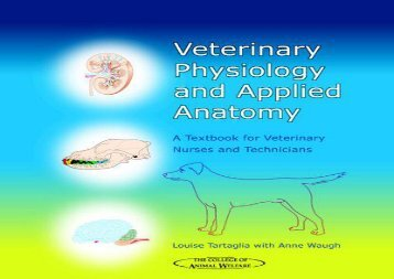 [+][PDF] TOP TREND Veterinary Physiology and Applied Anatomy: A Textbook for Veterinary Nurses and Technicians (College of Animal Welfare) [PDF]