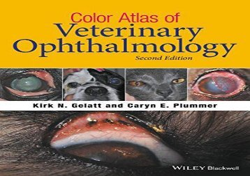 [+]The best book of the month Color Atlas of Veterinary Ophthalmology  [DOWNLOAD]