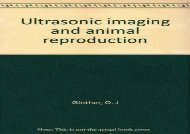 [+]The best book of the month Ultrasonic imaging and animal reproduction  [FULL]