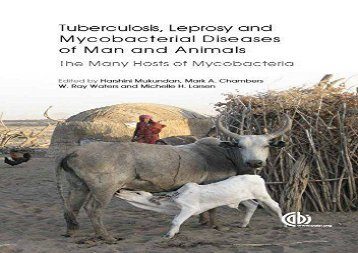 [+]The best book of the month Tubercolosis, Leprosy and Other Mycobacterial Diseases of Man and Animals: The Many Hosts of Mycobacteria  [DOWNLOAD]