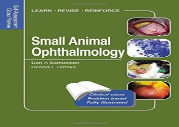 [+][PDF] TOP TREND Small Animal Ophthalmology: Self-Assessment Color Review (Self-Assessment Colour Review)  [FREE]