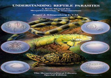[+]The best book of the month Understanding Reptile Parasites: Manual for Herpetoculturists and Veterinarians (Herpetocultural Library - Special S.) [PDF]