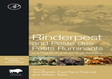 [+]The best book of the month Rinderpest and Peste des Petits Ruminants: Virus Plagues of Large and Small Ruminants (Biology of Animal Infections)  [FREE]
