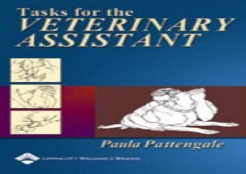 [+]The best book of the month Tasks for the Veterinary Assistant  [READ]