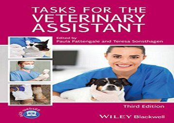 [+][PDF] TOP TREND Tasks for the Veterinary Assistant [PDF]