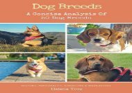 [+][PDF] TOP TREND Dog Breeds: A Concise Analysis of 50 Dog Breeds  [DOWNLOAD]