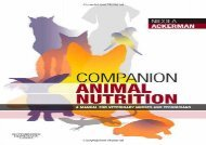 [+][PDF] TOP TREND Companion Animal Nutrition: A Manual for Veterinary Nurses and Technicians  [FULL]