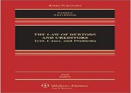 [+][PDF] TOP TREND The Law of Debtors and Creditors: Text, Cases, and Problems  [READ]