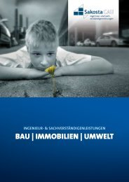 BAU | IMMOBILIEN | UMWELT - SakostaCAU GmbH