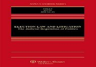 [+]The best book of the month Election Law and Litigation: The Judicial Regulation of Politics (Aspen Casebook)  [READ]