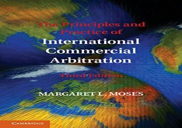 [+][PDF] TOP TREND The Principles and Practice of International Commercial Arbitration: Third Edition [PDF]