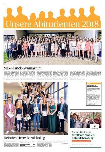 Unsere Abiturienten 2018  -12.07.2018-