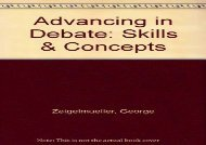[+][PDF] TOP TREND Advancing in Debate: Skills   Concepts  [DOWNLOAD]