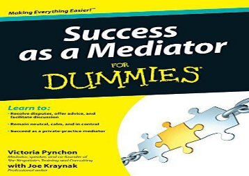 [+][PDF] TOP TREND Success as a Mediator For Dummies  [READ]