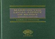 [+][PDF] TOP TREND Mann on the Legal Aspect of Money  [FULL]