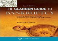 [+]The best book of the month Glannon Guide to Bankruptcy: Learning Bankruptcy Through Multiple-Choice Questions and Analysis (Glannon Guides)  [NEWS]
