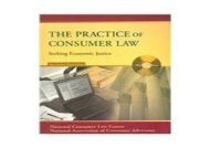 [+]The best book of the month The Practice of Consumer Law: Seeking Economic Justice  [FREE]