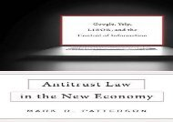 [+][PDF] TOP TREND Antitrust Law in the New Economy: Google, Yelp, Libor, and the Control of Information [PDF]
