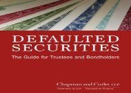 [+]The best book of the month Defaulted Securities: The Guide for Trustees and Bondholders  [FREE]