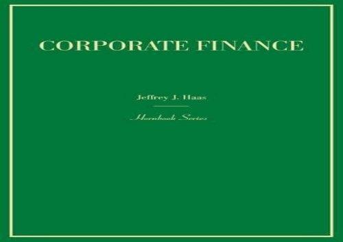 [+][PDF] TOP TREND Corporate Finance (Hornbook)  [READ]