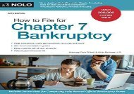 [+][PDF] TOP TREND How to File for Chapter 7 Bankruptcy  [NEWS]