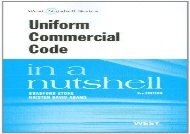 [+]The best book of the month Uniform Commercial Code in a Nutshell (Nutshell Series) [PDF]