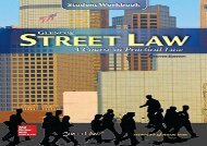 [+]The best book of the month Street Law: A Course in Practical Law, Workbook (NTC: Street Law) [PDF]