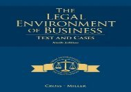 [+]The best book of the month The Legal Environment of Business: Text and Cases  [READ]